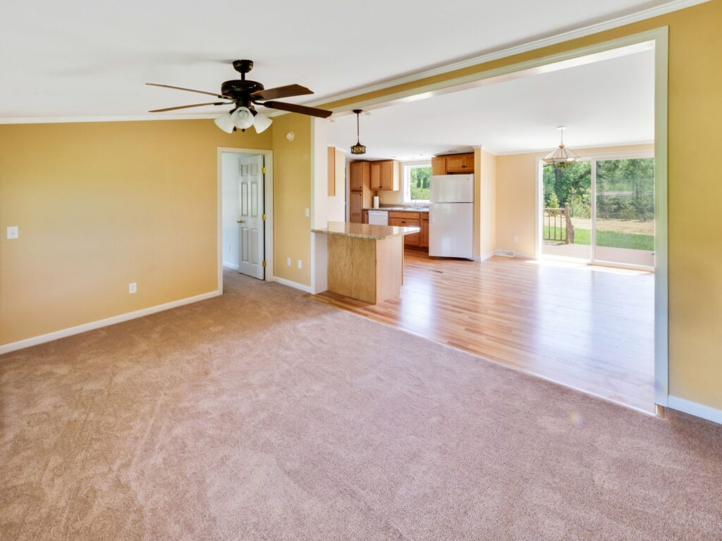 Empty Real Estate Listing, Not Staged
